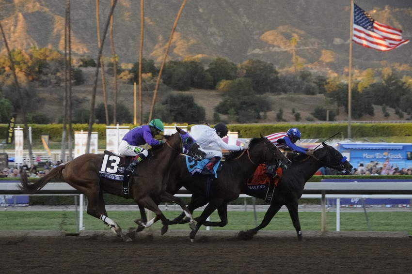 The Breeders' Cup Challenge Series Action this year is hot
